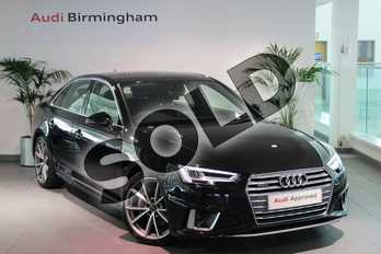 Audi A4 40 TDI Quattro S Line 4dr S Tronic in Myth Black Metallic at Coventry Audi