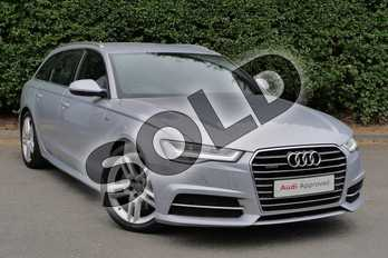 Audi A6 Diesel 3.0 TDI (272) Quattro S Line 5dr S Tronic in Floret Silver, metallic at Worcester Audi