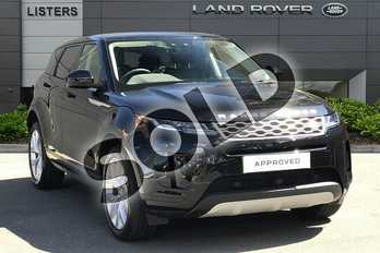 Range Rover Evoque Diesel 2.0 D150 S 5dr Auto in Santorini Black at Listers Land Rover Droitwich
