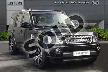 Land Rover Discovery Diesel SW 3.0 SDV6 HSE Luxury 5dr Auto in Mariana Black at Listers Land Rover Droitwich