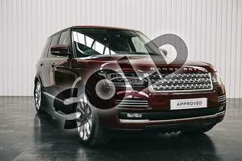 Range Rover Diesel 4.4 SDV8 Autobiography 4dr Auto in Montalcino Red at Listers Land Rover Solihull