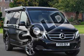 Mercedes-Benz V Class Diesel V250 d Marco Polo Horizon Sport 4dr Auto (Long) in obsidian black metallic at Mercedes-Benz of Lincoln