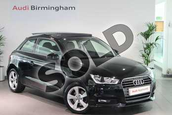 Audi A1 1.4 TFSI Sport 3dr S Tronic in Brilliant black at Birmingham Audi