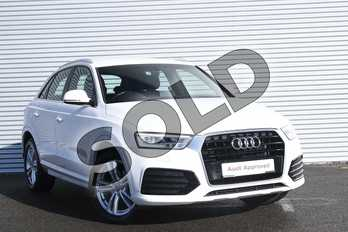 Audi Q3 1.4T FSI S Line 5dr in Shell White at Coventry Audi
