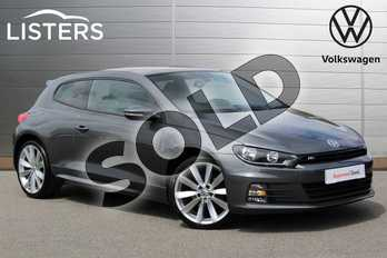 Volkswagen Scirocco Diesel 2.0 TDI BlueMotion Tech R Line 3dr in Indium Grey at Listers Volkswagen Nuneaton