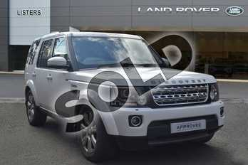 Land Rover Discovery Diesel SW 3.0 SDV6 HSE 5dr Auto in Fuji White at Listers Land Rover Hereford