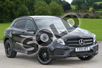 Mercedes-Benz GLA Class GLA 180 AMG Line Edition Plus 5dr Auto in Cosmos Black Metallic at Mercedes-Benz of Boston