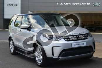 Land Rover Discovery 2.0 SD4 HSE 5dr Auto in Indus Silver at Listers Land Rover Hereford