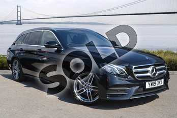 Mercedes-Benz E Class E220d AMG Line 5dr 9G-Tronic in obsidian black metallic at Mercedes-Benz of Hull