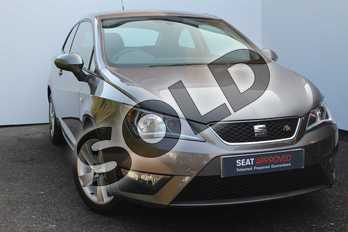 SEAT Ibiza Sport 1.2 TSI 110 FR Technology 3dr in Grey at Listers SEAT Worcester