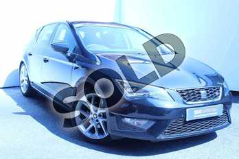 SEAT Leon 1.4 EcoTSI 150 FR 5dr (Technology Pack) in Black at Listers SEAT Worcester