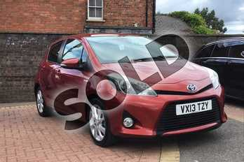 Toyota Yaris 1.5 VVT-i Hybrid T Spirit 5dr CVT in Red at Listers Toyota Boston