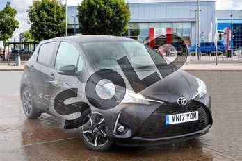 Toyota Yaris 1.5 VVT-i Design 5dr in Eclipse Black at Listers Toyota Coventry