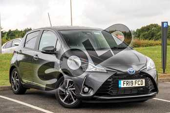 Toyota Yaris 1.5 Hybrid Excel 5dr CVT in Grey at Listers Toyota Lincoln