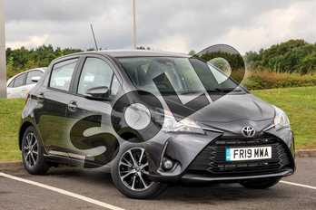 Toyota Yaris 1.5 VVT-i Icon Tech 5dr in Grey at Listers Toyota Lincoln