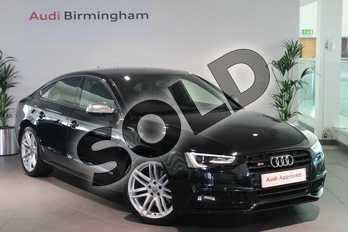 Audi A5 Special Editions S5 Quattro Black Edition 5dr S Tronic in Brilliant Black at Birmingham Audi