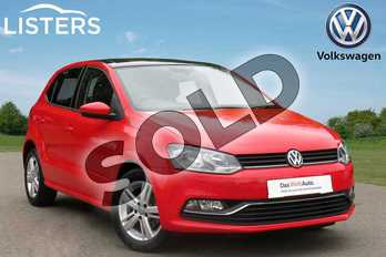 Volkswagen Polo 1.0 75 Match 5dr in Red at Listers Volkswagen Coventry