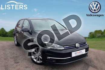 Volkswagen Golf 1.5 TSI EVO GT 5dr DSG in Deep Black at Listers Volkswagen Loughborough