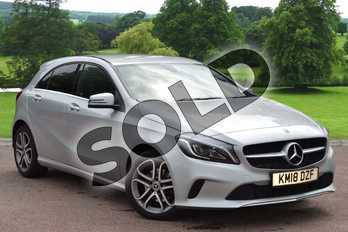 Mercedes-Benz A Class A180 Sport Edition 5dr Auto in Polar Silver at Mercedes-Benz of Hull