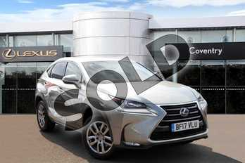Lexus NX 300h 2.5 Luxury 5dr CVT in Sonic Titanium at Lexus Coventry