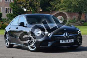 Mercedes-Benz A Class Diesel A180d AMG Line Premium 4dr Auto in Cosmos Black Metallic at Mercedes-Benz of Lincoln