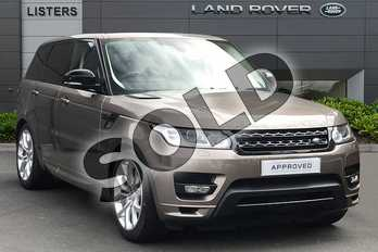 Range Rover Sport Diesel 3.0 SDV6 (306) Autobiography Dynamic 5dr Auto in Kaikoura Stone at Listers Land Rover Droitwich