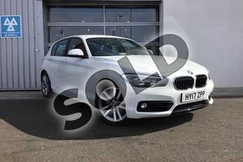 BMW 1 Series 118i (1.5) Sport 5dr (Nav) Step Auto in Alpine White at Listers King's Lynn (BMW)
