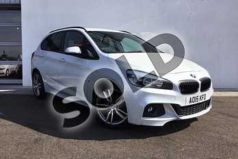 BMW 2 Series Diesel Active Tourer 218d M Sport 5dr Step Auto in Mineral White at Listers King's Lynn (BMW)