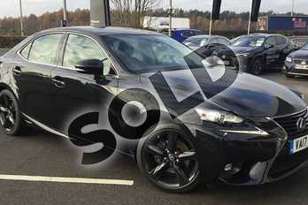 Lexus IS 300h Sport 4dr CVT Auto in Velvet Black at Lexus Coventry