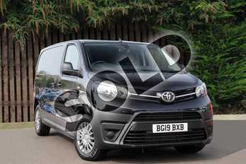 Toyota PROACE Medium Diesel 2.0D 120 Icon Crew Van Premium in Storm Black at Listers Toyota Coventry