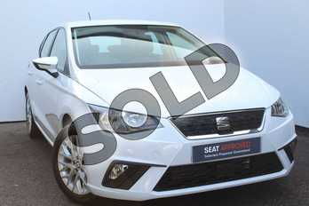 SEAT Ibiza 1.0 SE Technology (EZ) 5dr in Nevada White at Listers SEAT Worcester