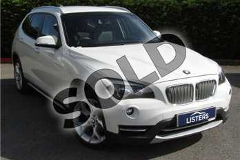 BMW X1 xDrive20i xLine 5dr in Solid - Alpine white at Listers U Boston