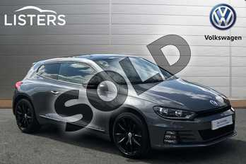 Volkswagen Scirocco Diesel 2.0 TDI BlueMotion Tech GT Black Edition 3dr in Indium Grey at Listers Volkswagen Stratford-upon-Avon