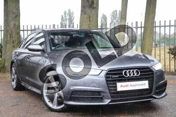Audi A6 Special Editions 3.0 TDI (272) Quattro Black Edition 4dr S Tronic in Daytona Grey Pearlescent at Coventry Audi