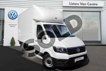 Volkswagen Crafter 2.0TDI (177Ps)(EU6) CR35 LWB Luton   Luton Body Conversion  Tail Lift   in White at Listers Volkswagen Van Centre Coventry