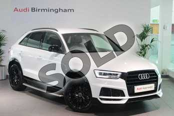 Audi Q3 Special Editions 1.4T FSI Black Edition 5dr in Glacier White Metallic at Birmingham Audi