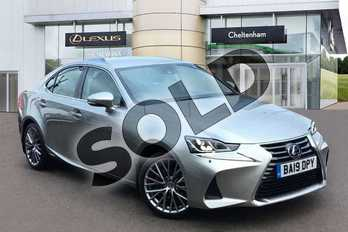 Lexus IS 300h 4dr CVT Auto in Sonic Titanium at Lexus Coventry