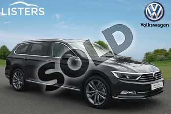 Volkswagen Passat Diesel 2.0 TDI GT 5dr DSG (Panoramic Roof) (7 Speed) in Manganese Grey at Listers Volkswagen Stratford-upon-Avon