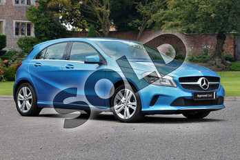 Mercedes-Benz A Class Diesel A180d Sport 5dr in South Seas Blue at Mercedes-Benz of Lincoln