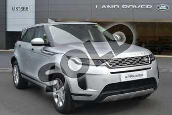 Range Rover Evoque Diesel 2.0 D180 S 5dr Auto in Indus Silver at Listers Land Rover Hereford