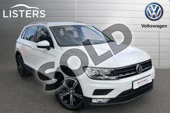 Volkswagen Tiguan 1.4 TSI 150 SE 5dr in White at Listers Volkswagen Worcester