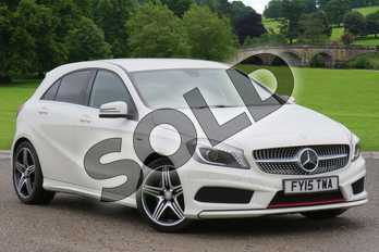 Mercedes-Benz A Class A 250 Sport Engineered by AMG in Cirrus White at Mercedes-Benz of Boston