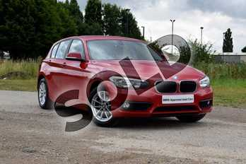 BMW 1 Series Diesel 118d SE 5dr in Crimson Red at Listers Boston (BMW)