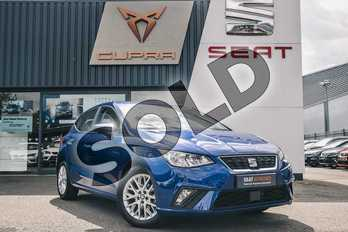 SEAT Ibiza 1.0 TSI 95 SE 5dr in Blue at Listers SEAT Coventry