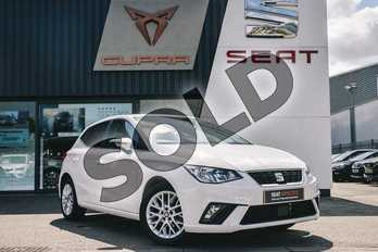 SEAT Ibiza 1.0 SE 5dr in White at Listers SEAT Coventry