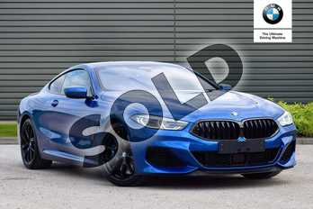 BMW 8 Series M850i xDrive 2dr Auto in Sonic Speed Blue at Listers Boston (BMW)
