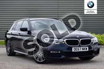 BMW 5 Series Diesel Touring 520d xDrive M Sport 5dr Auto in Carbon Black at Listers Boston (BMW)