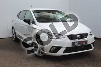SEAT Ibiza 1.0 FR (EZ) 5dr in None at Listers SEAT Worcester