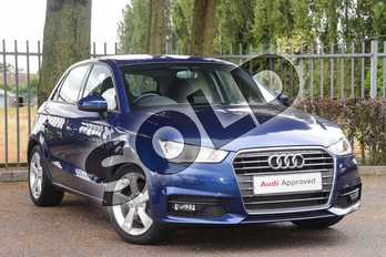 Audi A1 1.4 TFSI Sport 5dr in Scuba Blue Metallic at Coventry Audi