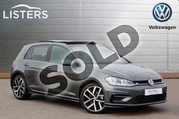 Volkswagen Golf 1.5 TSI EVO 150 R-Line 5dr DSG in Indium Grey at Listers Volkswagen Nuneaton